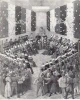 Lit de justice tenu par Charles VII en personne