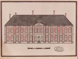 Façade occidentale du château de Thorigny