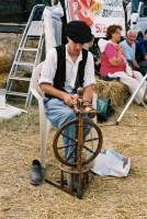 le filage au rouet