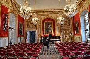 salon du gouverneur : Odile et Louis XIV