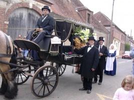 Un enterrement de première classe mis au point par Lucien Aymonin et ses collègues de Thorigny!