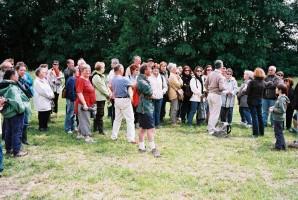 La promenade dans le parc de Thorigny