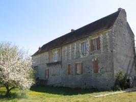 La Commanderie de Launay: vue de la facade ouest