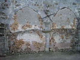 Eglise de Saint Martin: mur nord bouché