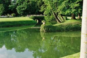 Les pieces d'eau du parc de Thorigny