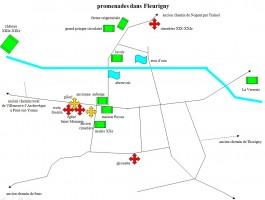 Carte de Fleurigny